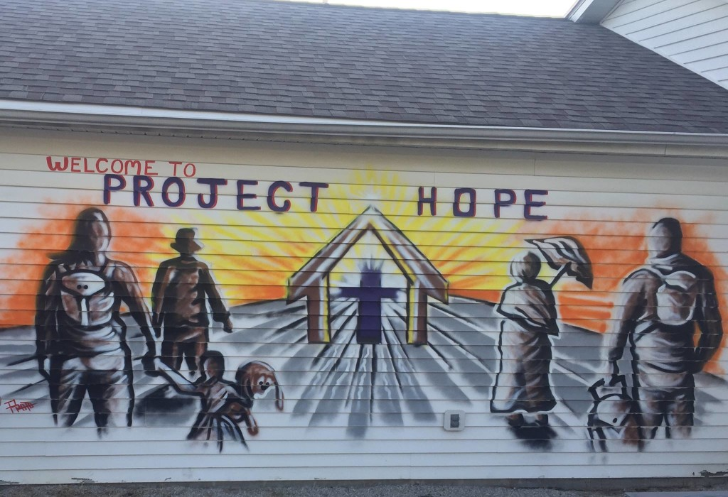 Support Project Hope, Lake County's only homeless shelter, this July during our Year of Giving.