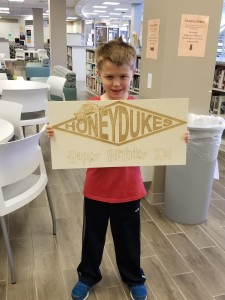 Make a special birthday gift at The HUB's makerspace.