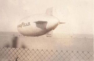 Goodyear blimps had a very different role during World War II.