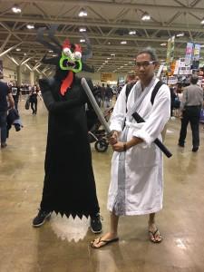 Easiest costume: Samurai Jack. All you need is a bathrobe.