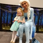 Elsa had snuggles for the kids at our Frozen Frenzy program.