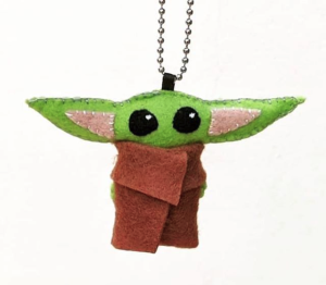 You know you want a Baby Yoda keychain. Make one with our new Geek Club on Wednesday, Jan. 22.
