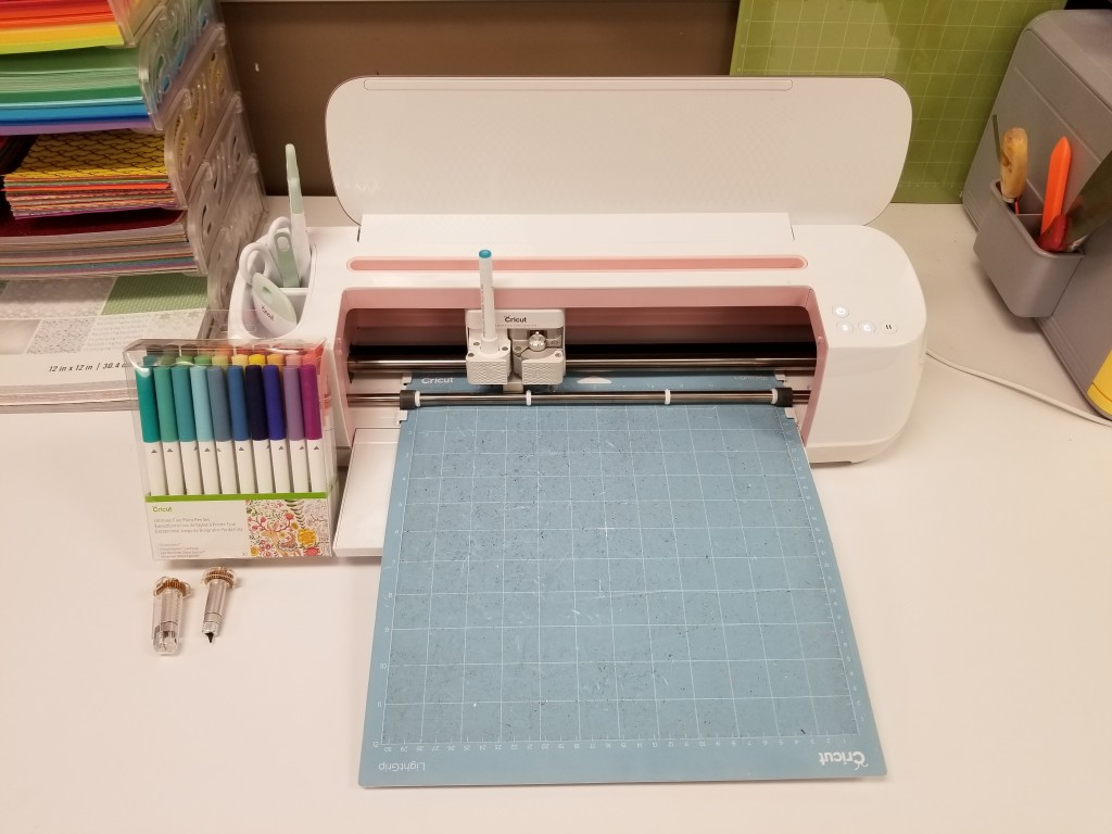 Learn how to use a Cricut Maker during a free introduction at The HUB's makerspace.