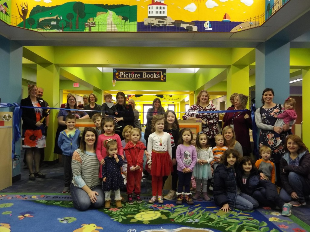 Thanks to everyone who helped us celebrate our renovated children's area!