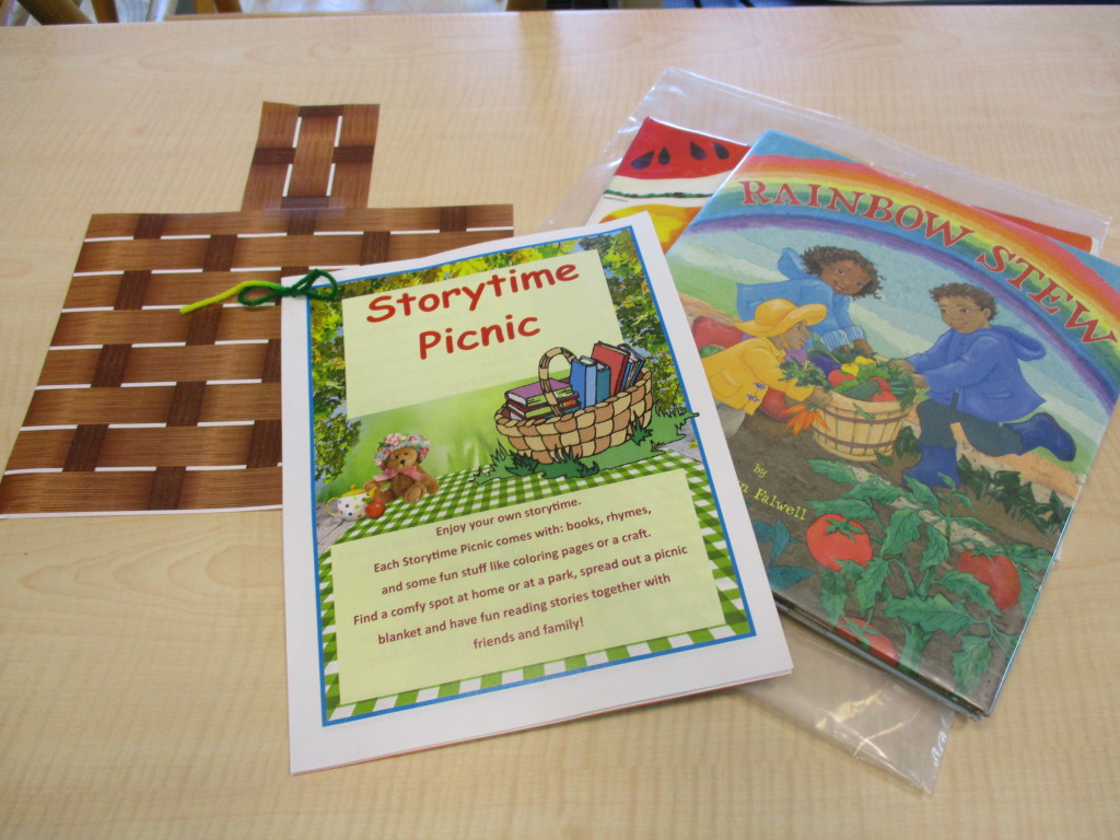 You can now borrow an entire story time with Mentor Public Library's Storytime Picnic.