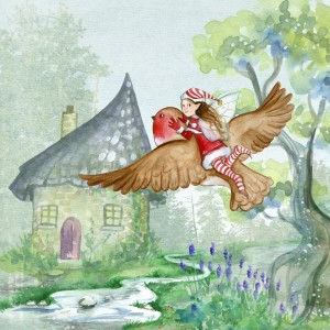 Kids can take you somewhere mystical and magical during our online art show.