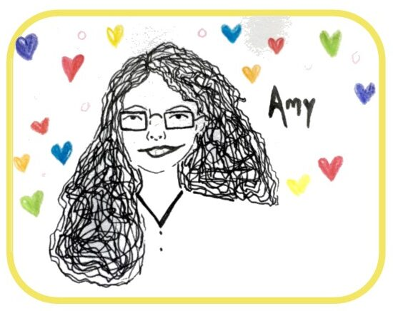 Drawing of Amy