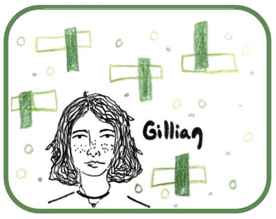 Drawing of Gillian