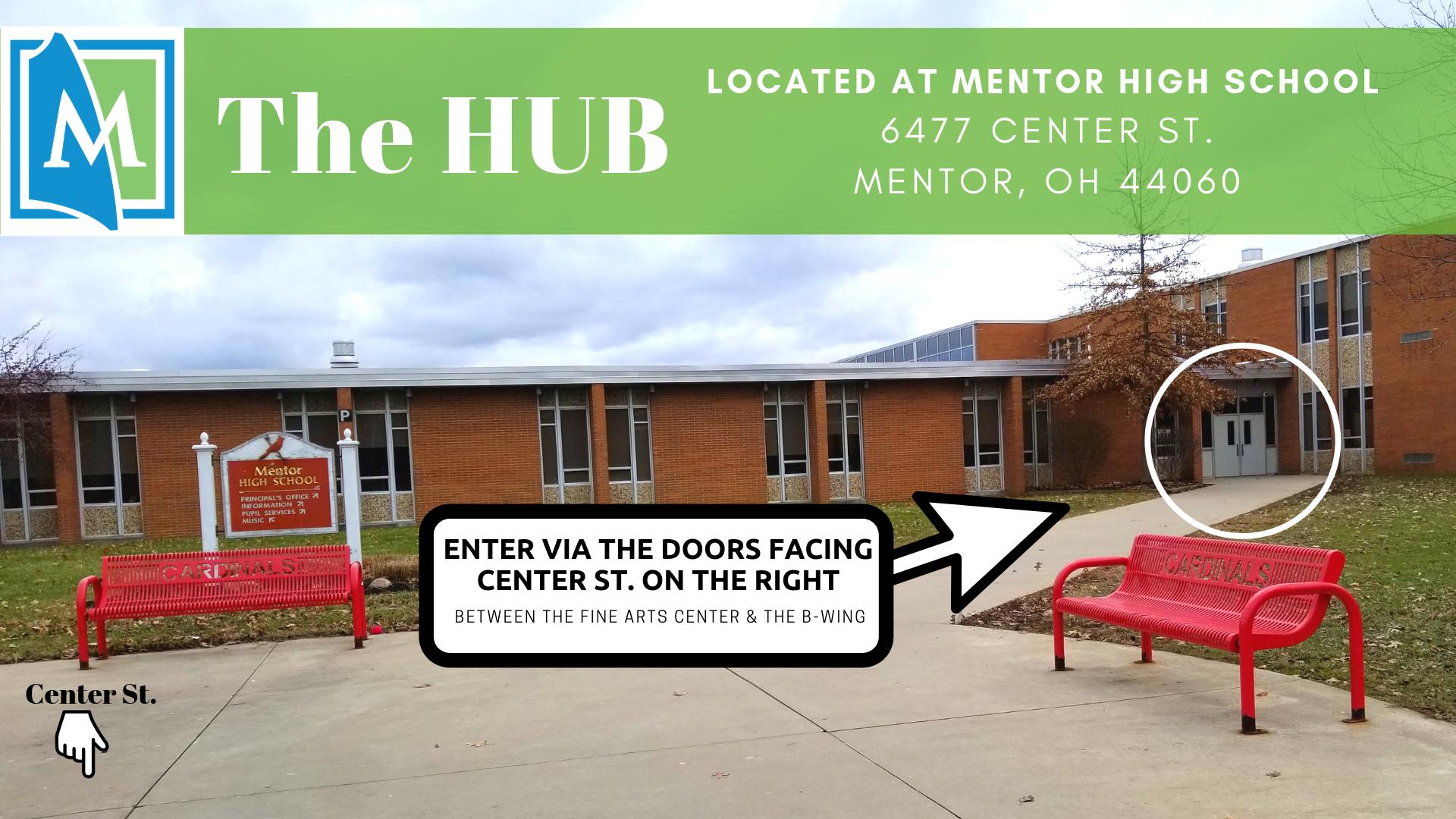 Image of the HUB entrance