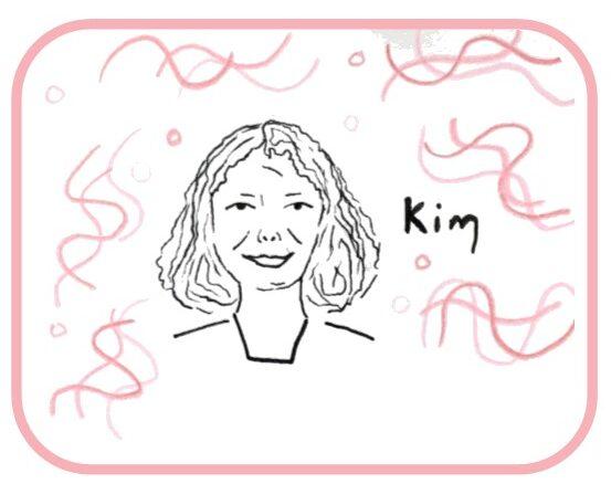 Drawing of Kim
