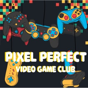 Pixel Perfect Game Club Graphic