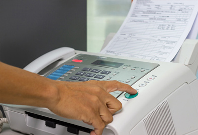 Image of a Fax Machine