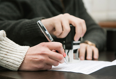 Image of a Notary