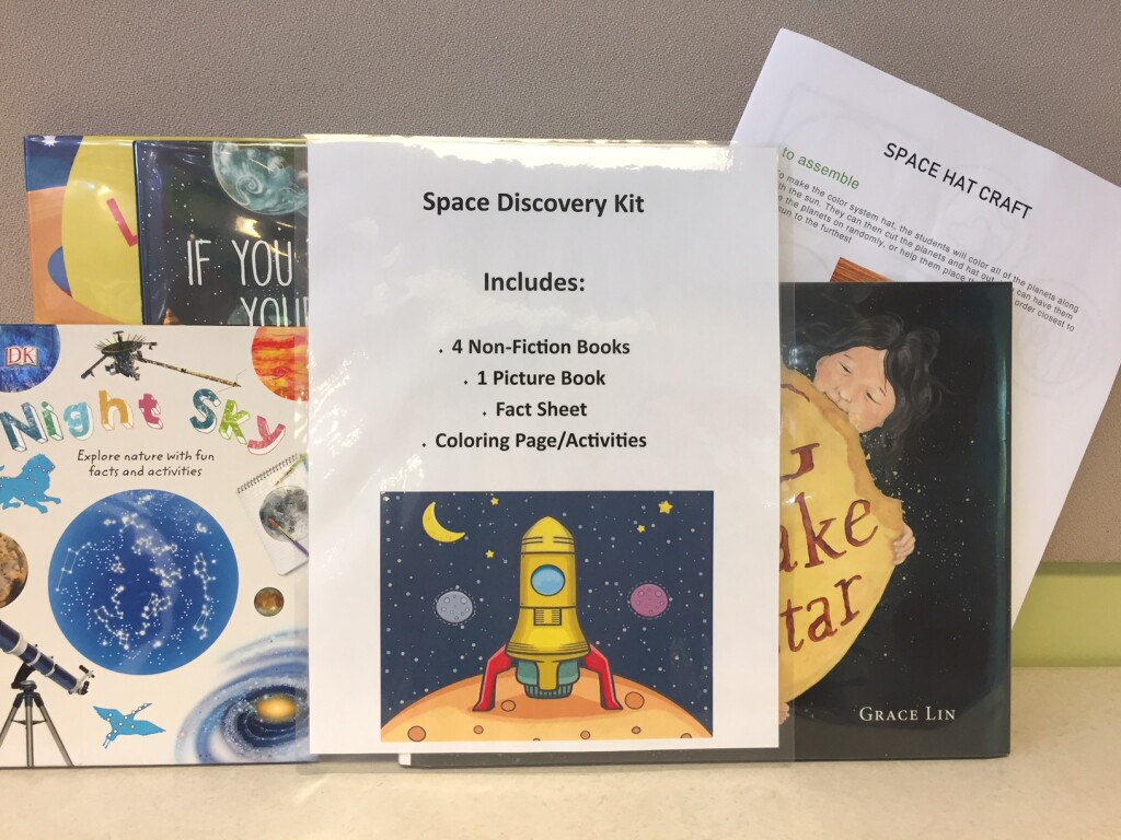 Search the stars or excavate ancient history with one of Mentor Public Library's Discovery Kits.