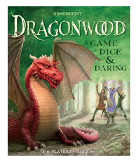 Game box for DragonWood: A game of Dice and Daring