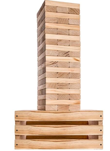 Giant Tumbling Towers