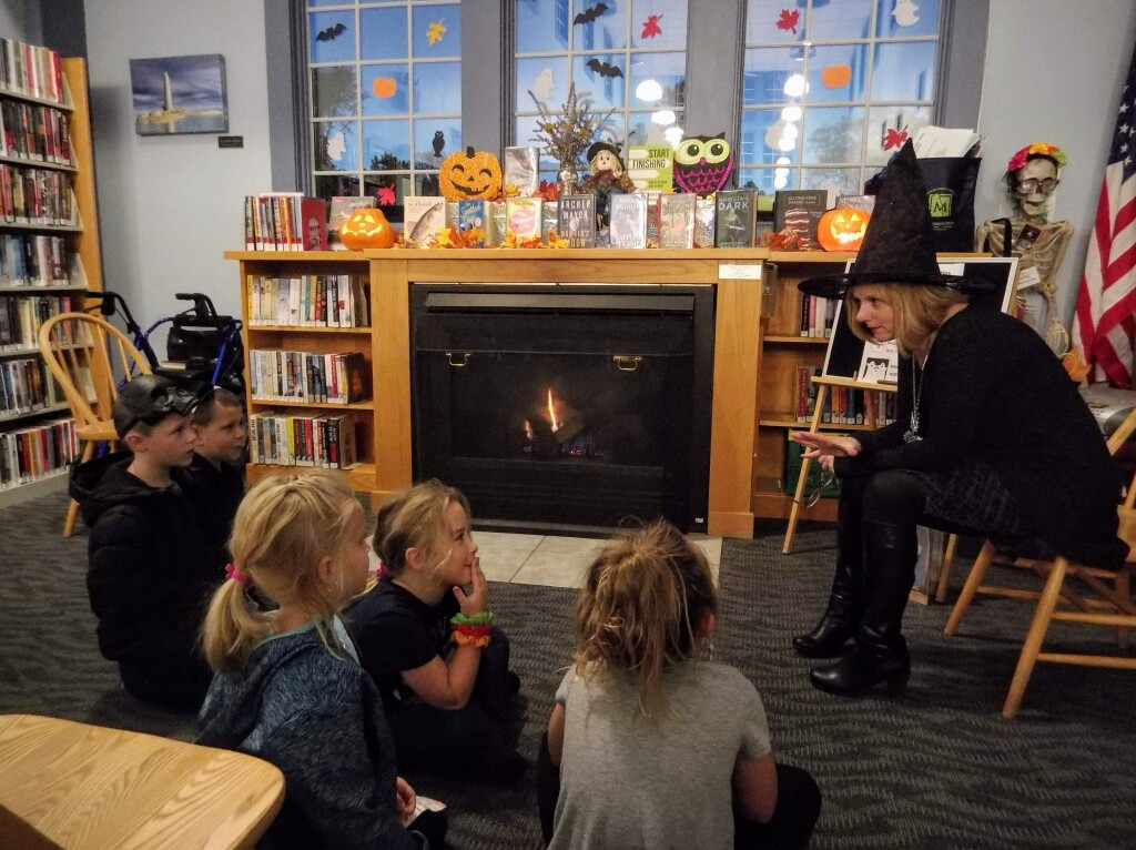 Ms. Mary and Ms. Lisa from our Lake Branch will share spooky stories for kids of all ages.