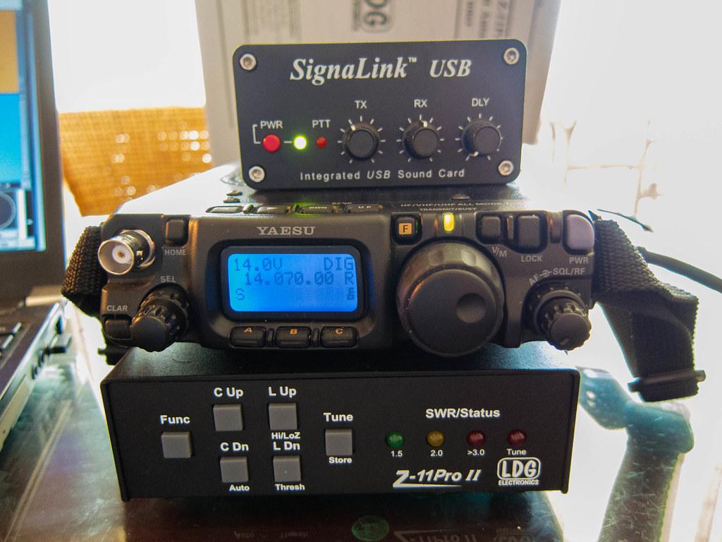 Signal Link Ham Radio setup