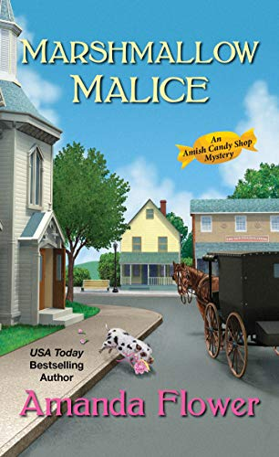Marshmalllow Malice is the latest title in Amanda Flower's popular Amish Candy Shop Mysteries series.