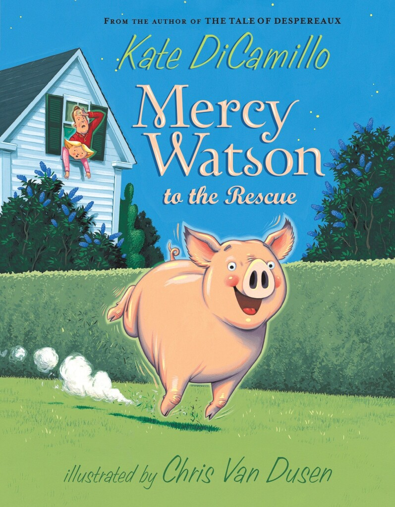 Mercy Watson to the Rescue will be the first read-along book for our Chips & Chapters Club.