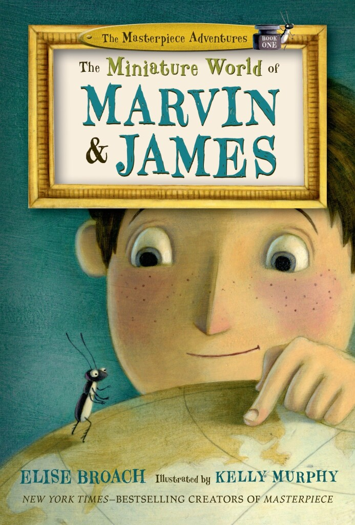 """Read (and snack) along with us when our Chips & Chapters Club meets this February. This month, we're reading """"The Miniature World of Marvin & James."""""""