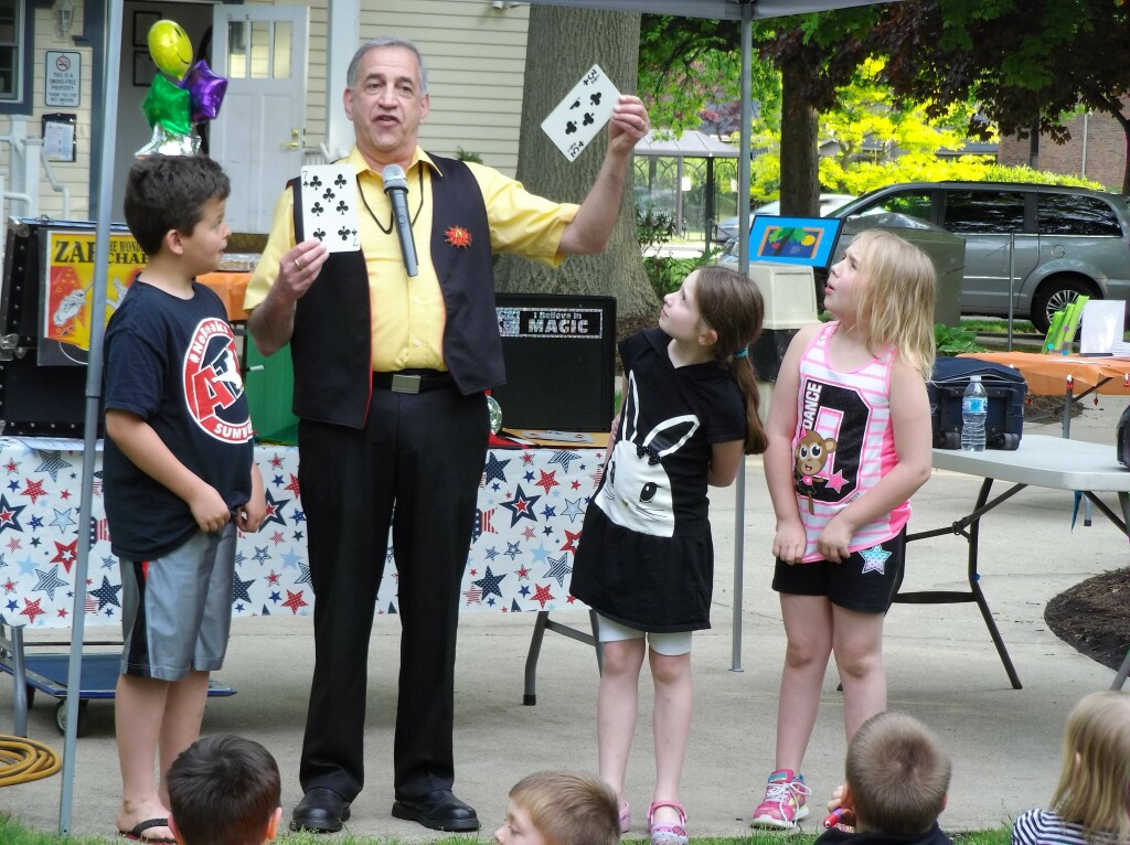 Are you ready for some magic? Mr. Zap will share a free online magic show for kids on NEOEA Day, Oct. 9.