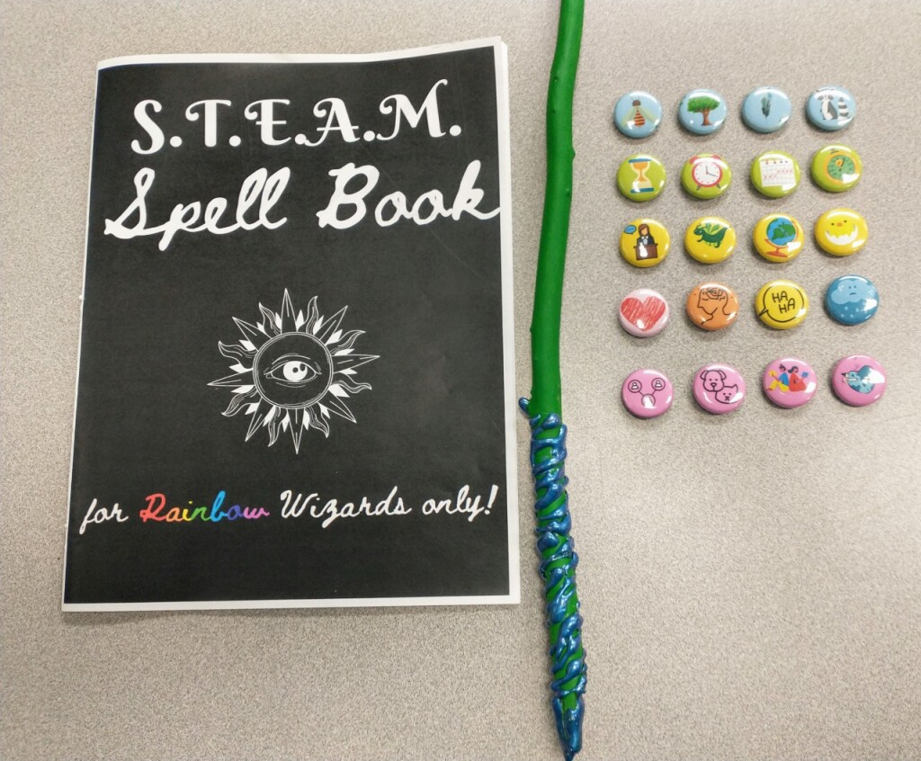 Earn your badges, wand, and spell book by becoming a Reading Wizard this spring at our Headlands Branch.