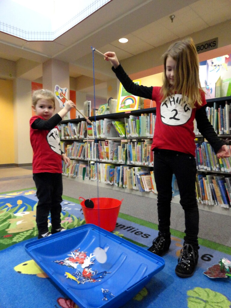 Help us celebrate Dr. Seuss's birthday at the library on Tuesday, March 2!