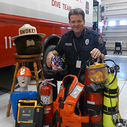 Mentor Firefighter Jerry Craddock