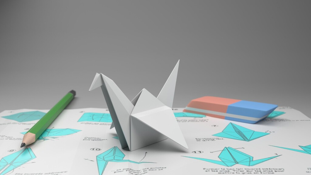 Kids can join us for the Online Origami Hour on Thursday, Sept. 10.